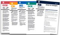 COSHH Essentials - Direct advice sheets