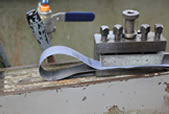 HSE - Engineering - The use of emery cloth on metalworking lathes