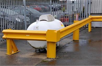 Bulk LPG storage tank - Safe use of LPG at small bulk install