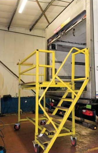 Falls From Height In Motor Vehicle Repair Mvr