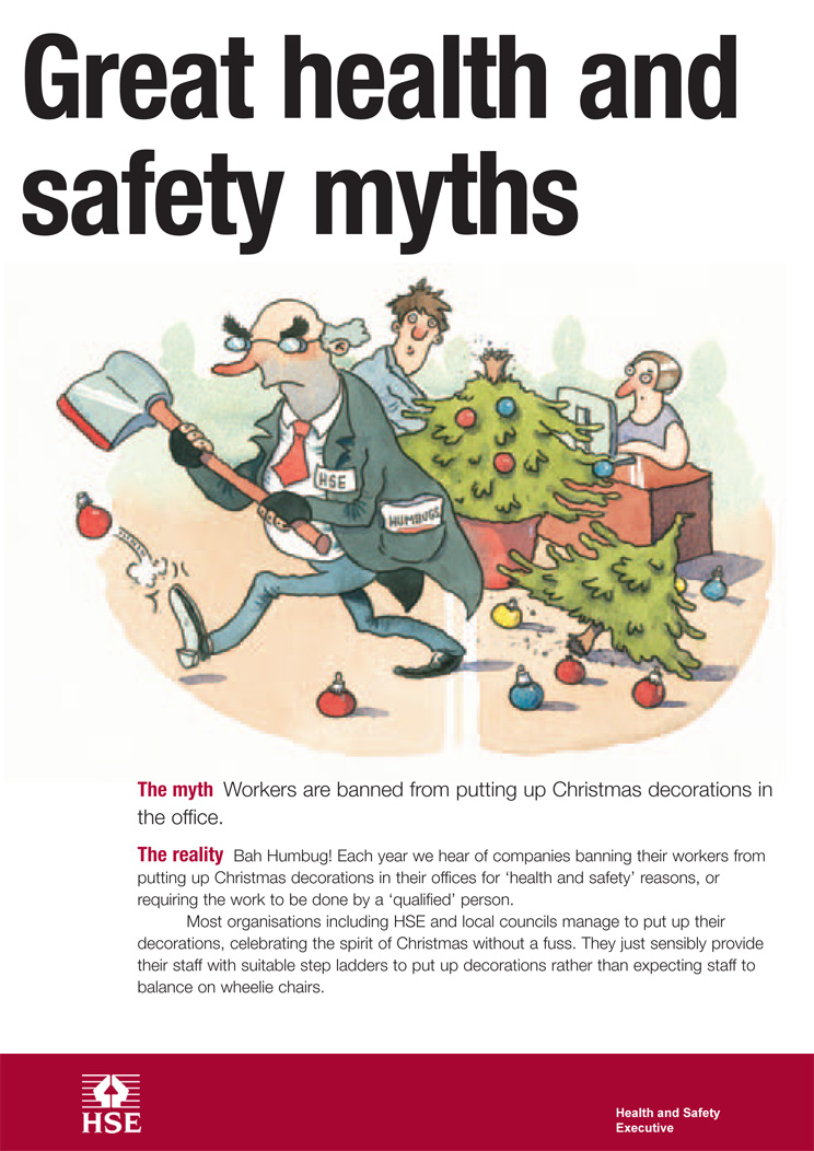 Myth Workers Are Banned From Putting Up Christmas Decorations